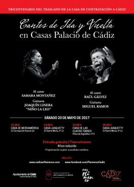 Cantes de ida y vuelta en Casas Palacio de Cádiz