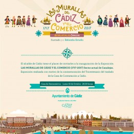 Exposición Las Murallas de Cádiz y el Comercio