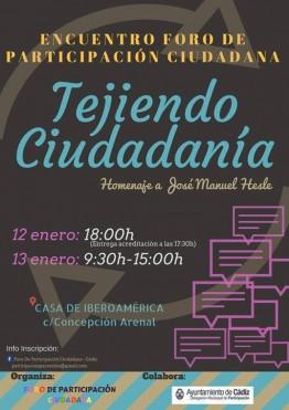Encuentro 'Tejiendo Ciudadanía'