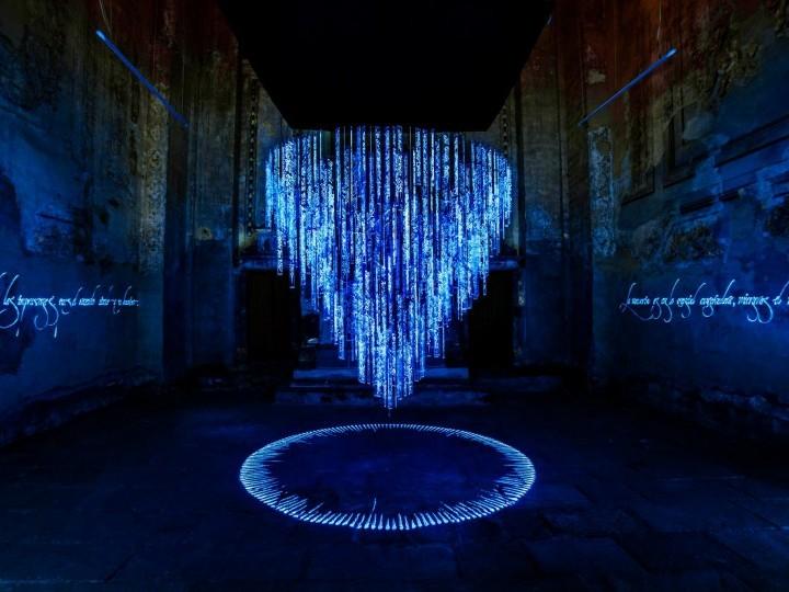 Said Dokins gana el Premio de Creación Artística con una obra sobre los desaparecidos en México