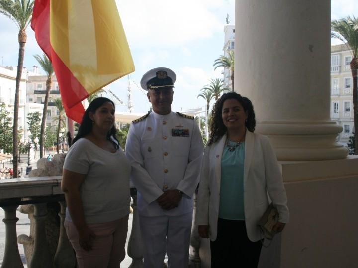 El buque escuela Gloria llega a Cádiz