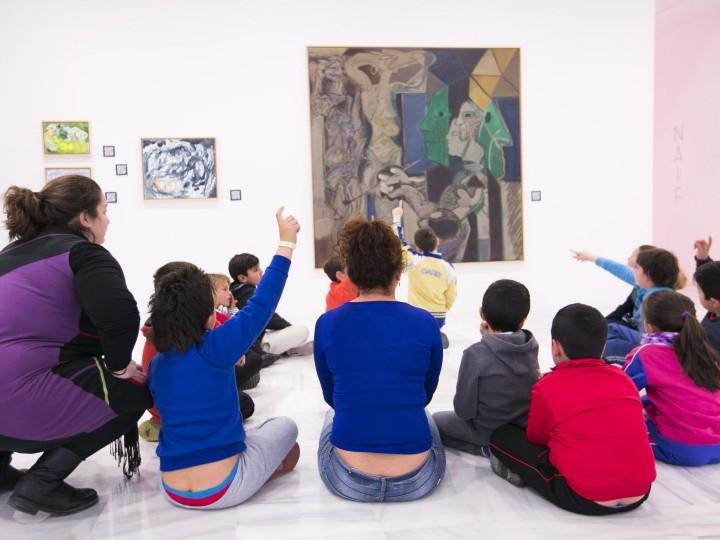 Los menores del Programa de Zonas se acercan a la cultura
