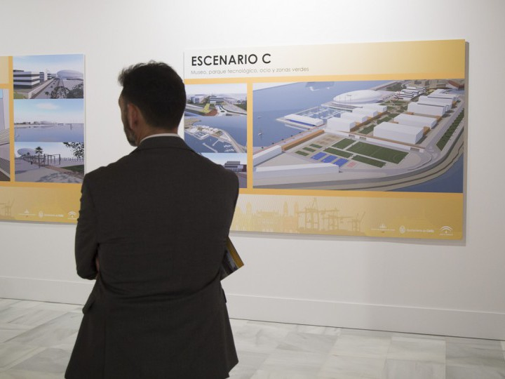Visitas guiadas para entender la futura transformación del puerto