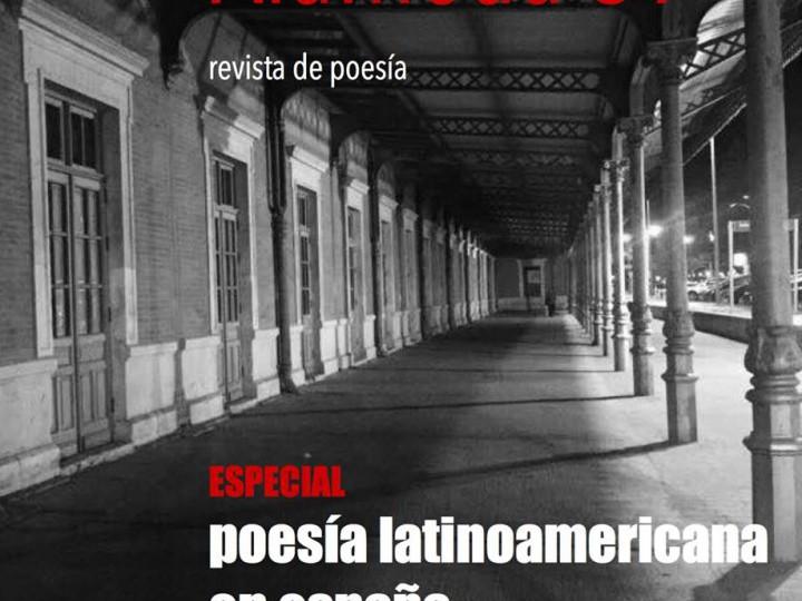 La poesía latinaomericana, protagonista de la revista 'Alameda 39'