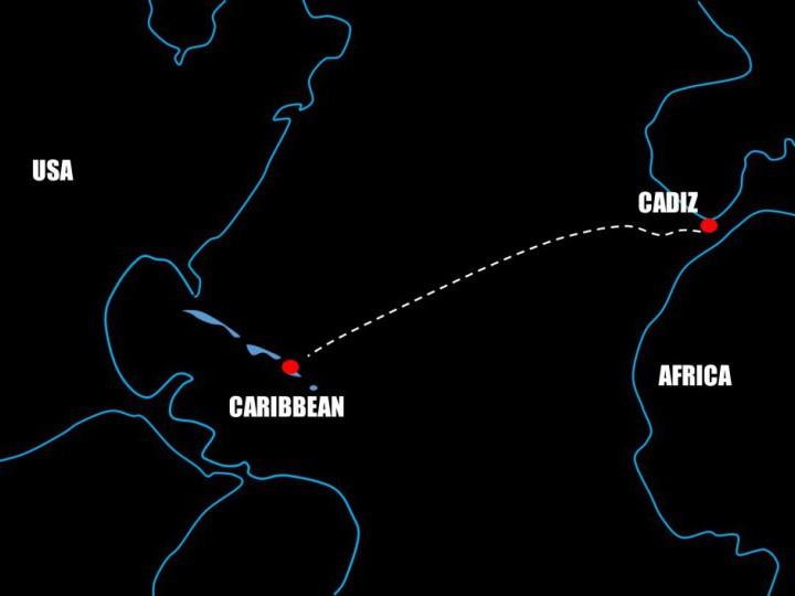 Emulando el segundo viaje de Cristóbal Colón